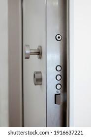 Hochsicherheitsschloss einer gepanzerten Haustür