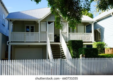 High set Queenslander style timber frame house, perfect for subtropical climate