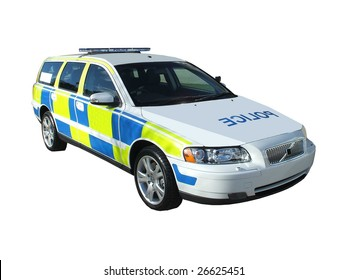 A High Speed Motorway Police Car.