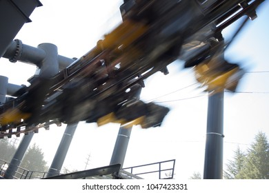 high speed roller coaster