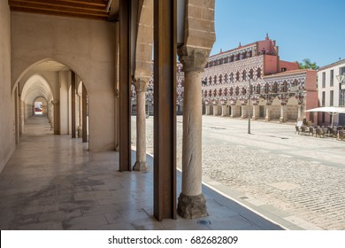 High square (Plaza Alta, Badajoz), Spain