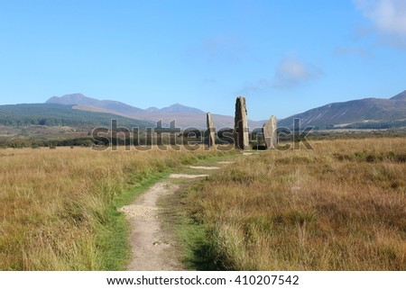 High Stone Circle on Isle of Arran