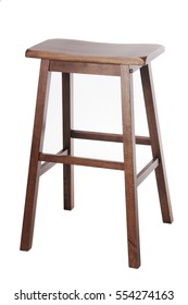 High Stool with White Background