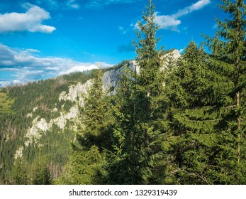 The High Tatras Mountains (Vysoké Tatry, Tatry Wysokie, Magas-Tátra), are a mountain range along the border of Slovakia in the Prešov Region, and southern Poland in the Lesser Poland Voivodeship