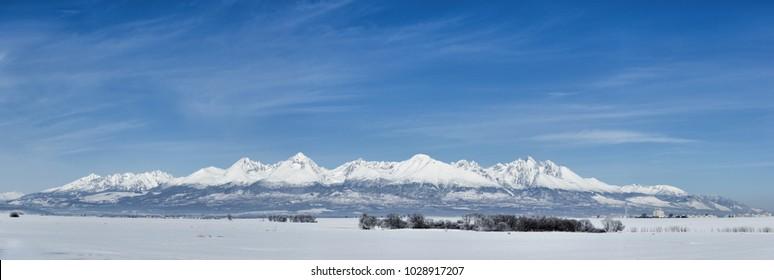 high tatras panorama