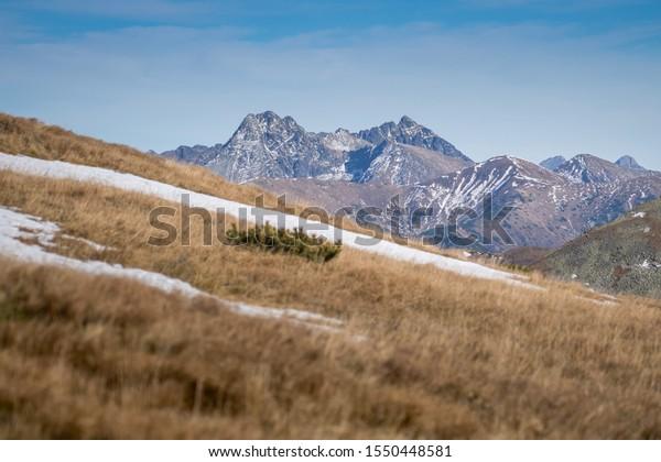 High Tatras, Western Tatras, Slovakia, Europe
