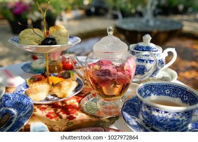 High Tea with desert