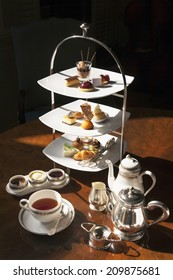 High tea set with dessert,Afternoon tea set