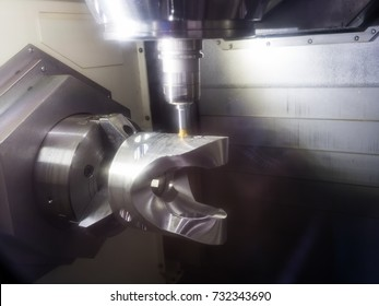 high technology CNC machining center, 5 axis machining, high speed cutting, high accuracy and precision production parts for automotive mold aerospace industrial