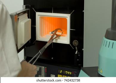 High Temperature Muffle Furnace in laboratory