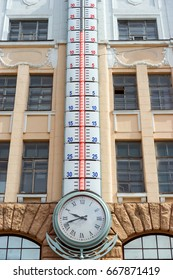 High temperatures in the summer in the city