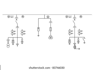 high tension circuit diagram