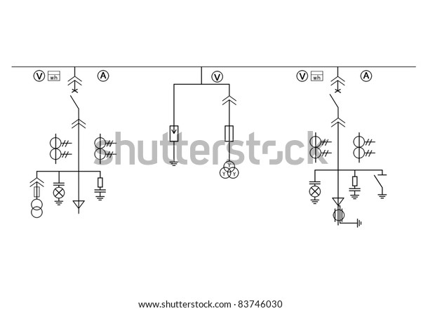 circuit diagram images free high tension circuit diagram royalty free stock image  high tension circuit diagram royalty
