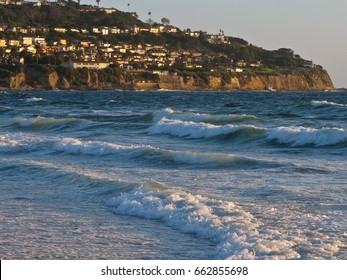 High Tide at Torrance State Beach, Los Angeles, California