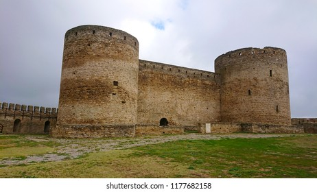 high towers in the Akkerman fortress