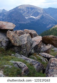 High tundra in the Colorado Rocky Mountains