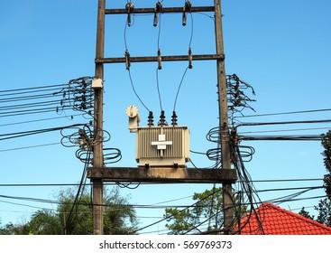 High Voltage Electric Transformer