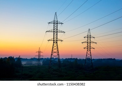 High voltage electrical power line