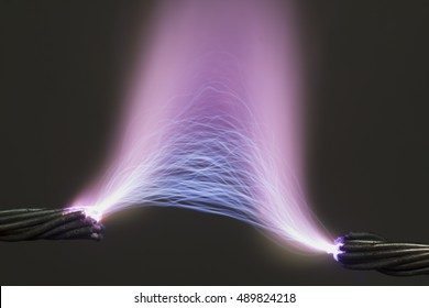 high voltage electrical spark