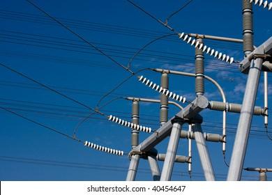 High Voltage Electrical Substation Insulators