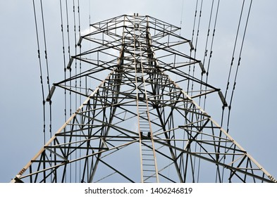 High voltage electricity giant tower