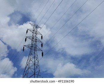 high voltage pole