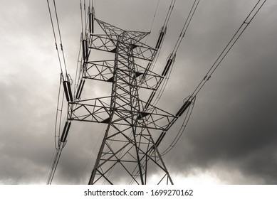 high voltage power lines in australia