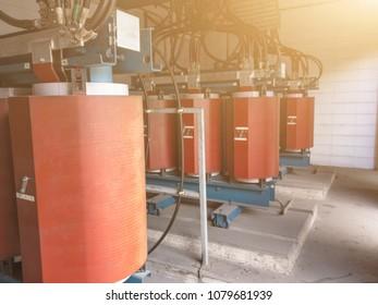 High Voltage Transformer 22KV. metal is Superconductors for High Voltage Transformer.