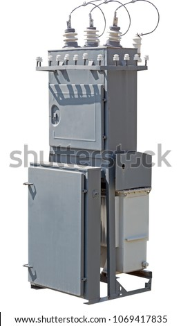 high voltage transformer on