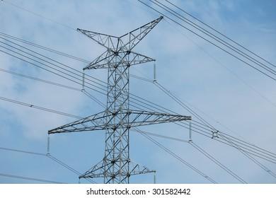 High Voltage Transmission Tower IX
