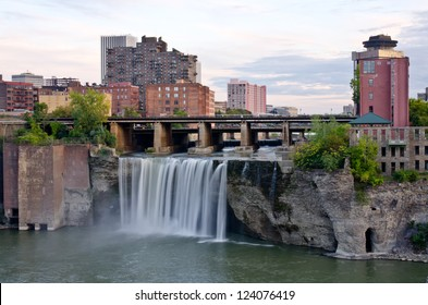 High Waterfalls - City of Rochester