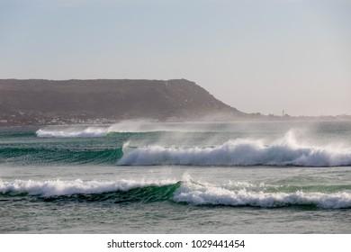 High Waves on Cape Towns Beach