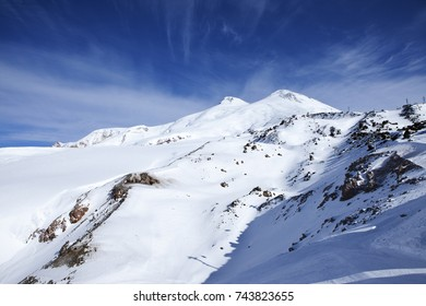 The highest peak in Europe - mount Elbrus