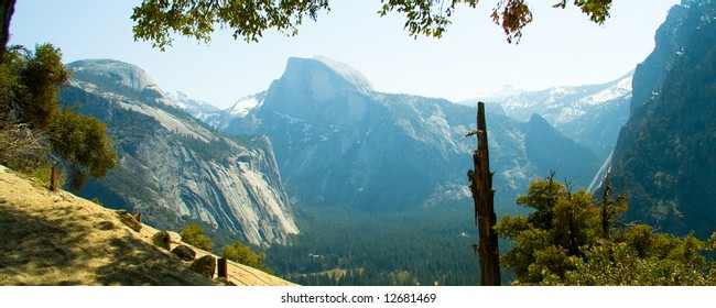 The highest point in the Yosemite Valley, Half Dome is the symbol of Yosemite.