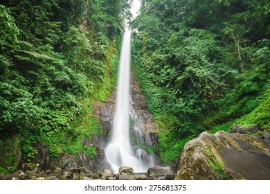 The highest waterfall in Bali