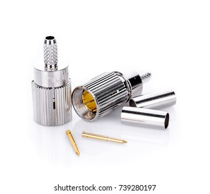 High-frequency SMA connectors