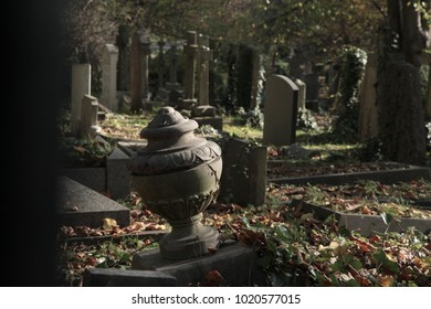 Highgate Cemetery in London