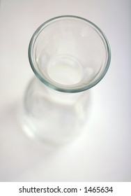 high-key image of a carafe, with very shallow DOF