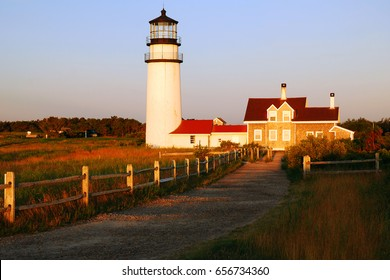 The Highland Light, also known as the Cape Cod Light, is the oldest and tallest lighthouse on Cape Cod.  It was the subject of artist Edward Hopper's Highland Light, North Truro painting.
