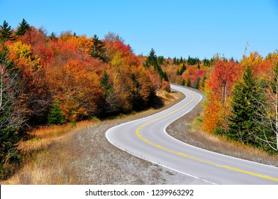 Highland Scenic Highway, National Scenic Byway, Pocahontas County, West Virginia, USA