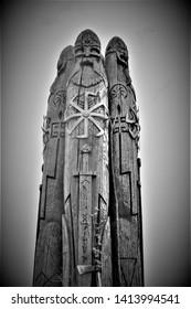 The highland of Slavic Perun gods
