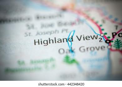 Highland View. Florida. USA