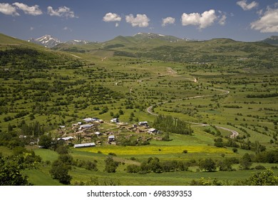 Highland village in Posof Ardahan Turkey