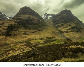 Highlands in Scotland, Isle of Skye, May 2014
