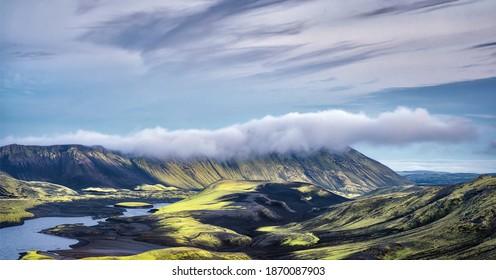 Highlands in Southern Iceland taken in August 2020