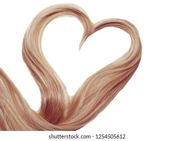 highlight hair texture abstract fashion style background heart form