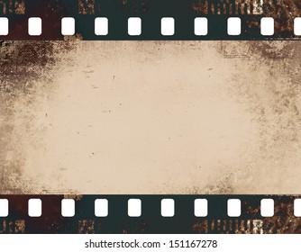 highly detailed film frame