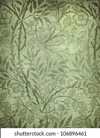 highly detailed image of grunge vintage wallpaper