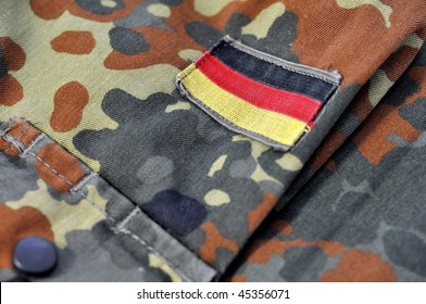 Highness's signs on an armed forces jacket.