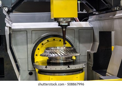 High-performance 5-axis CNC machining centre. It includes various applications in the tool and mould making, medical, aerospace, motorsport, machine sectors and other industries